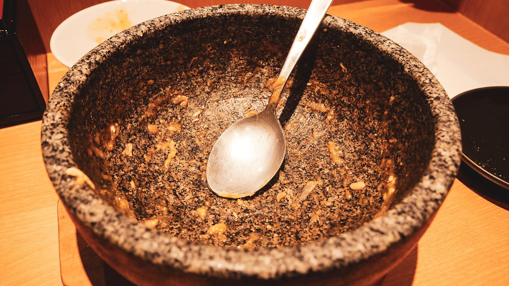 石鍋カレーうどん完食