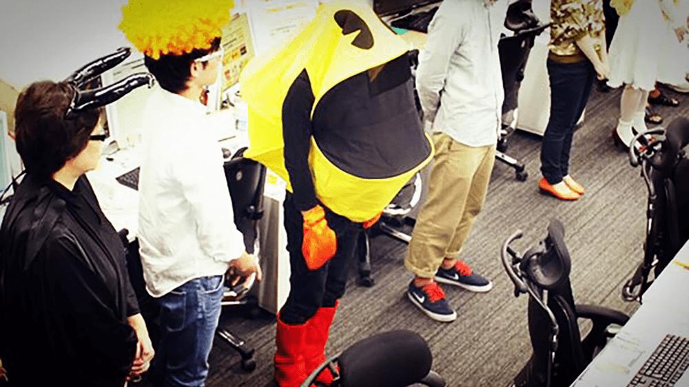 パックマンの仮装