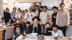 京橋で開催されたクリエイター忘年会に参加してきました