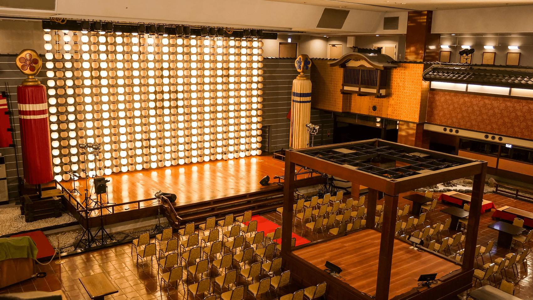 館内のイベントスペース
