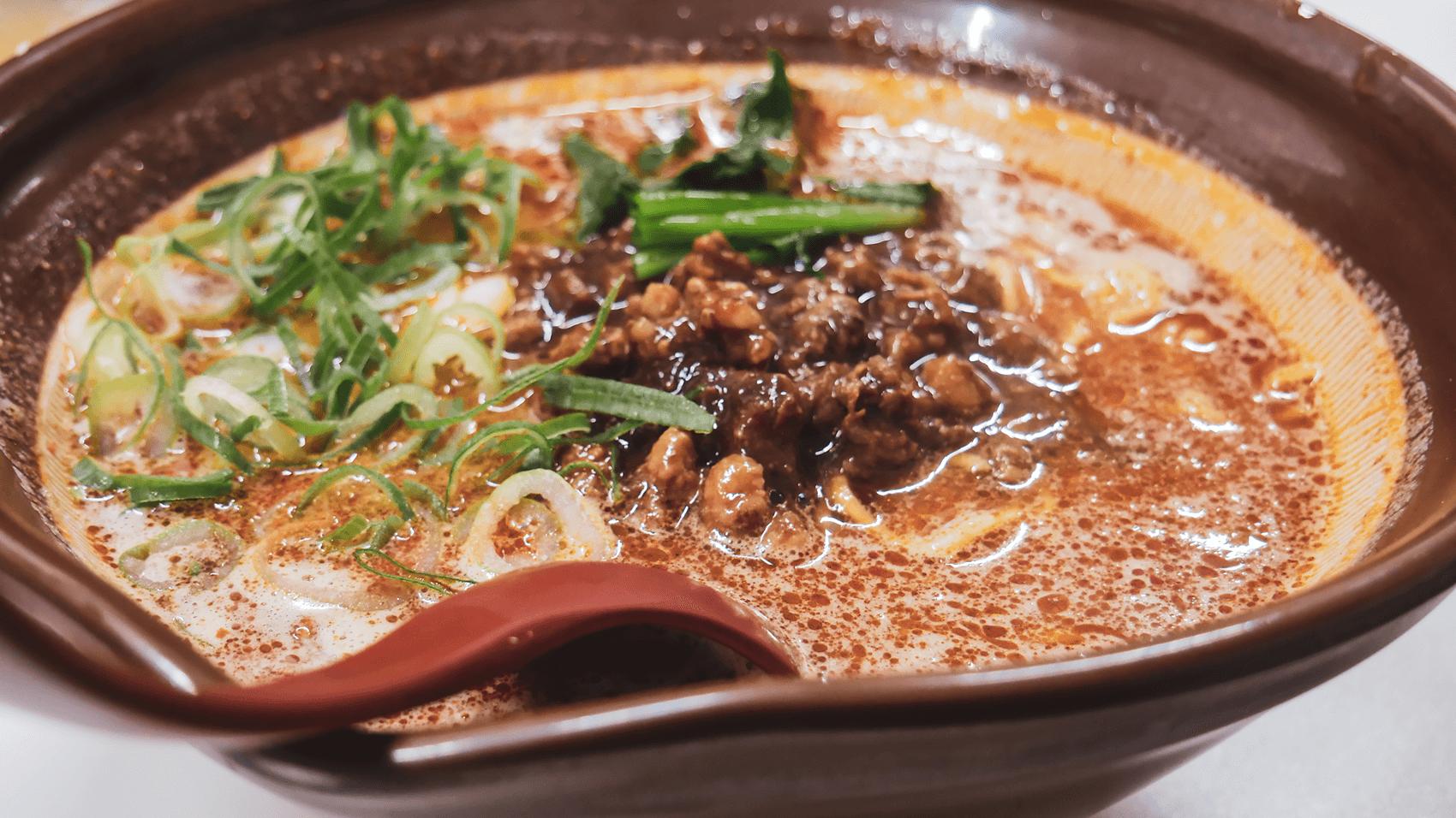 白ごま担々麺