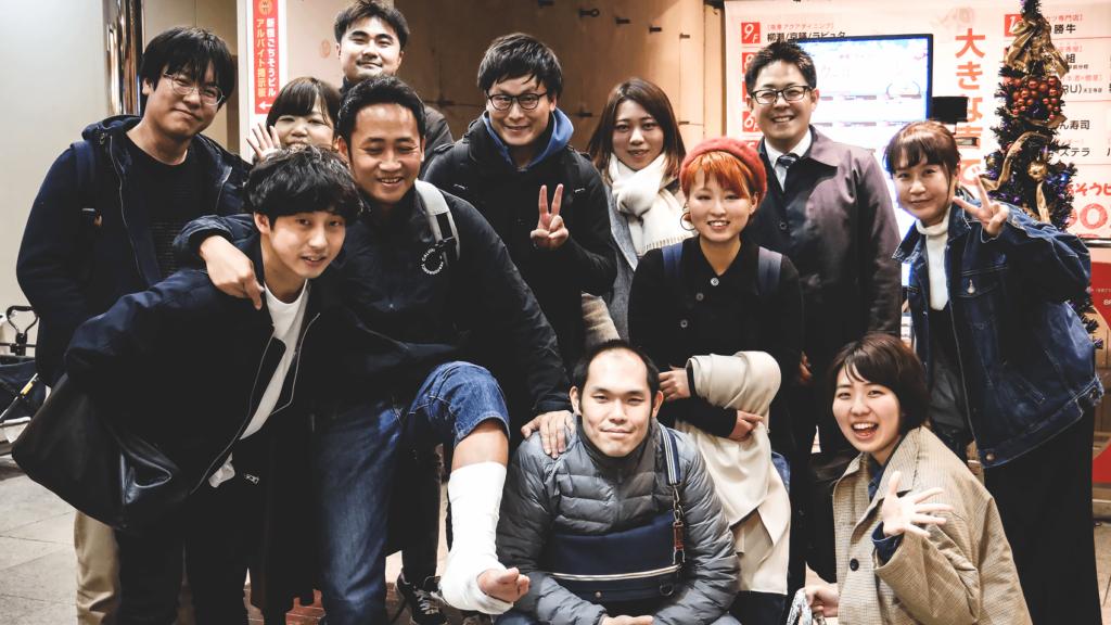 ブロキの呼びかけによる忘年会をとりひめ天王寺店にて開催しました
