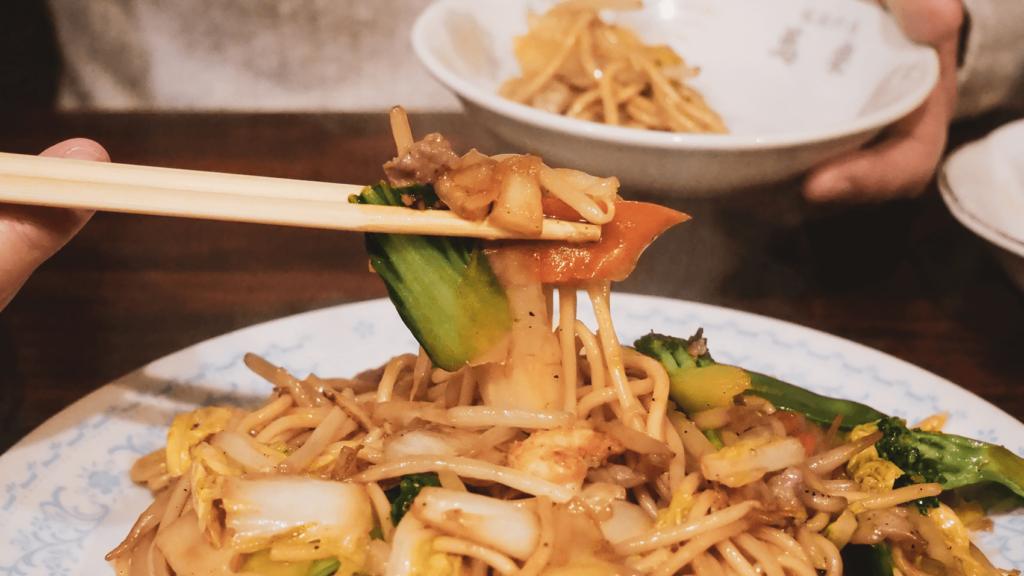 駒川にある元宝塚の鳳蘭さんのお店「北京料理 萬楽」で定番メニューを食す