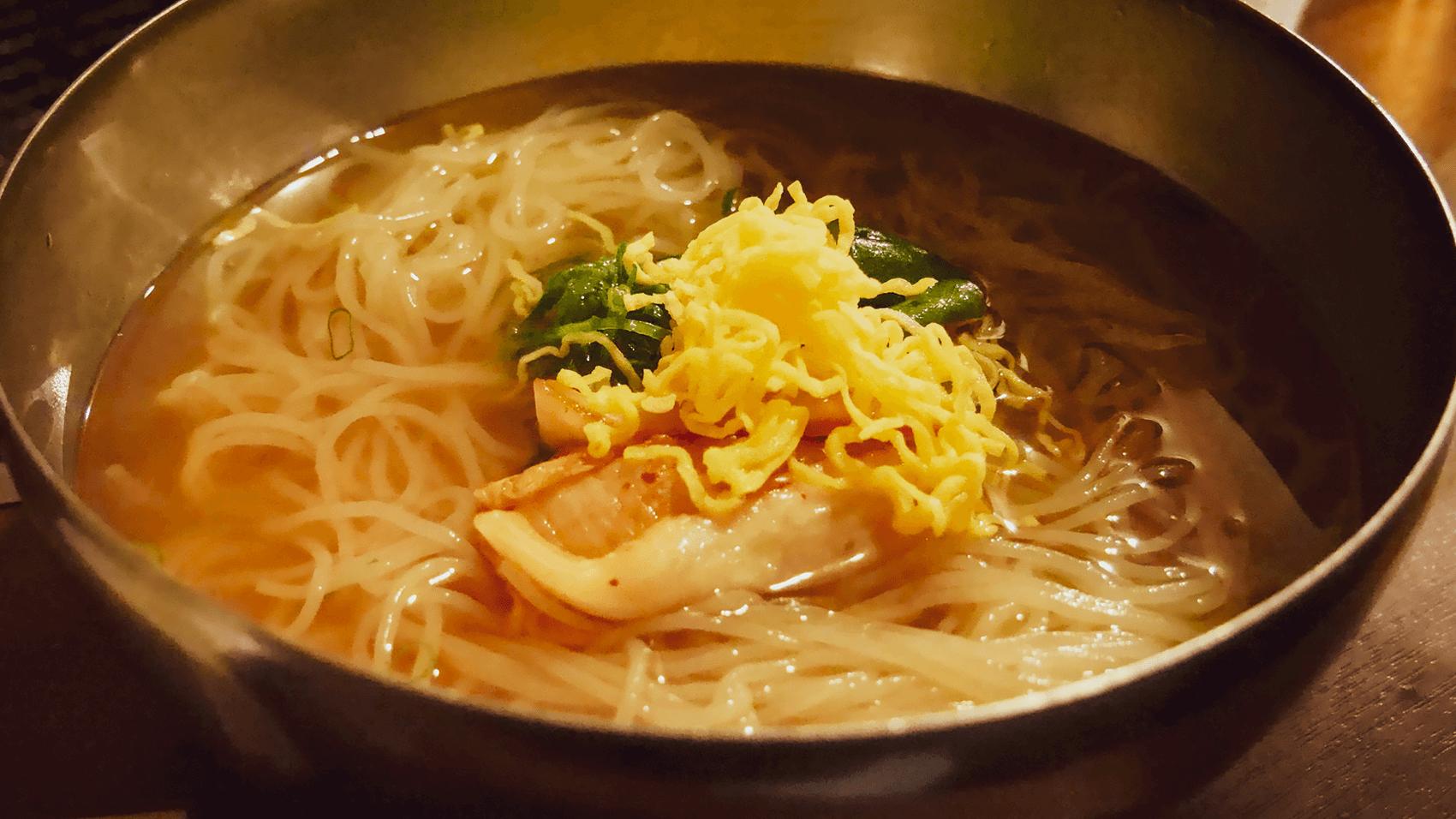 締めの冷麺