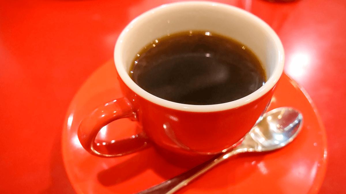 ワイズカフェのホットコーヒー