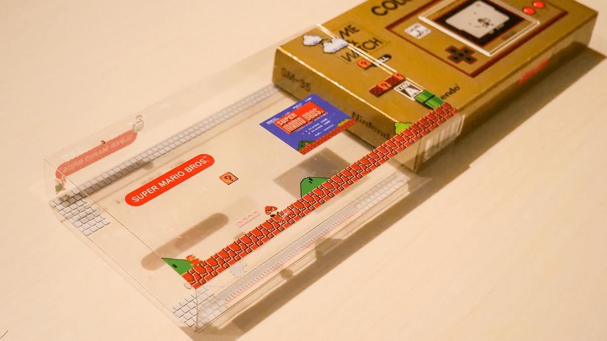 ゲーム&ウォッチのスーパーマリオのスリーブパッケージ
