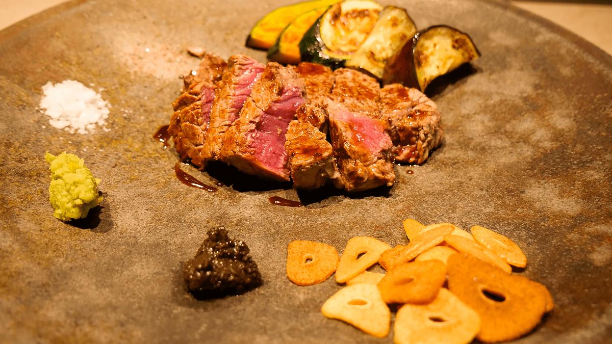 ヒレ肉のステーキ その1