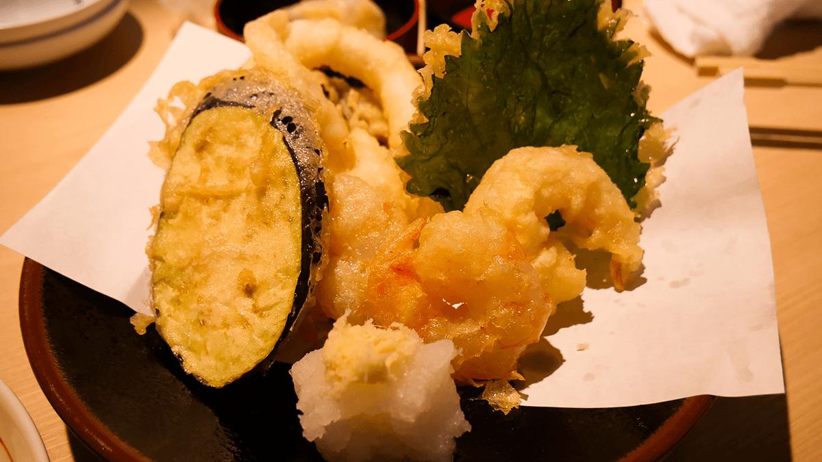 ゲソの天ぷら盛り
