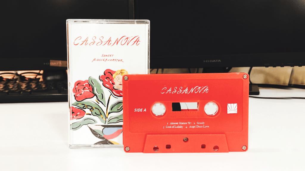 台湾のバンドSunset Rollercoaster「Cassa Nova」