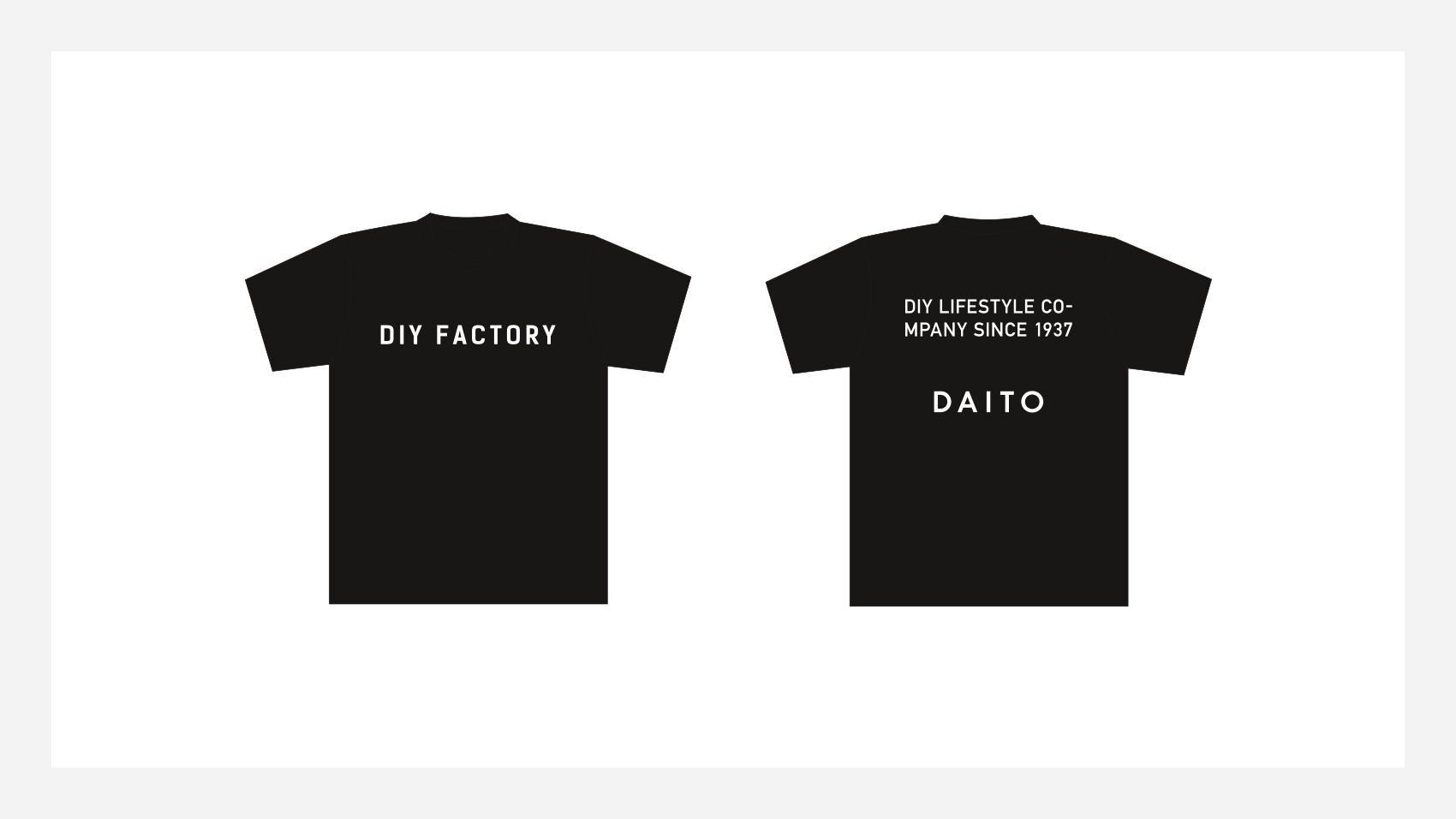 大都のコーポレートTシャツデザイン