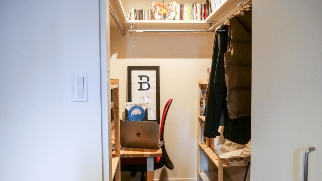 クセがすごい?BUROKI designの制作集中部屋を初公開いたします