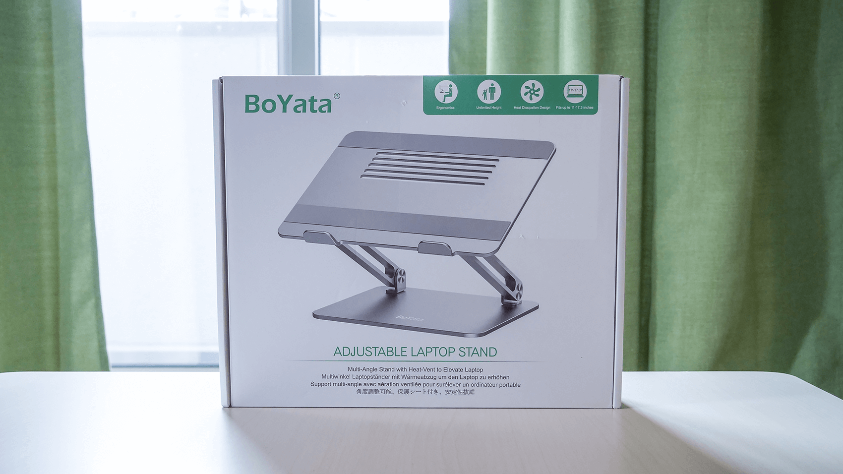 """Boyataのパソコンスタンドのパッケージ"""""""