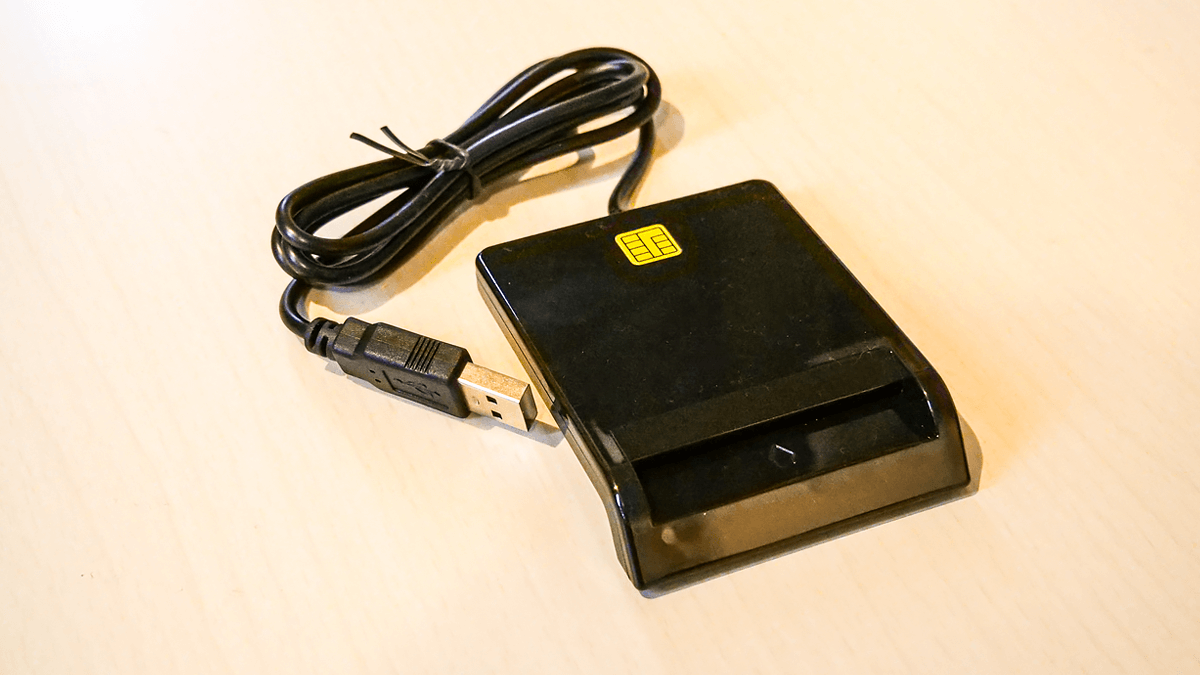 接続型ICカードリーダー