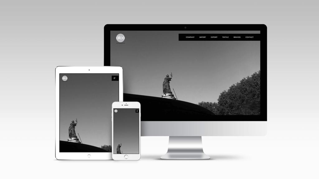 色褪せないシンプルさを追求。「アルコ トレーディング株式会社」のwebデザイン